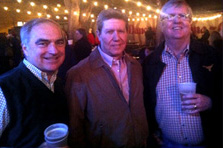 Stuart Ford '76, Tommy McGuffy '76 and John Scofield '75 renewed at the Austin 2013 Founders Day.