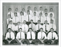 Pike Pledge Class in 1957.