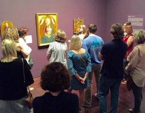 Pike moms toured the UT Blanton Museum.