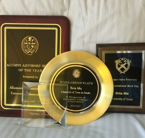 Beta Mu earned a number of awards and recognition at Pike's The Academy 2017 in Memphis.