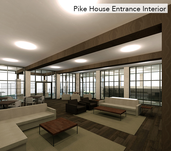 Pike House Entrance Interior
