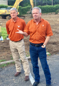 Wayne Lott and Rev. Matt Cassidy Speak at Groundbreaking