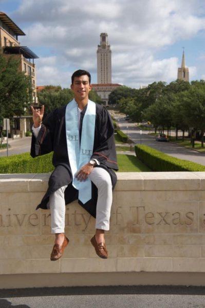 Cole Martinez graduates