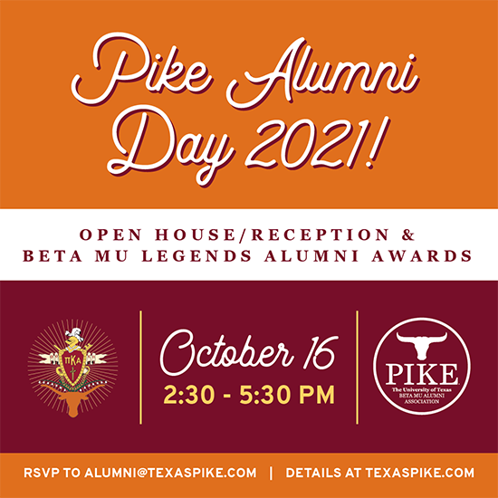 Pike Alumni Weekend 2021
